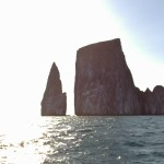 Kicker Rock in the Galapagos Islands, Ecuador. Photo credit: L. Tripoli