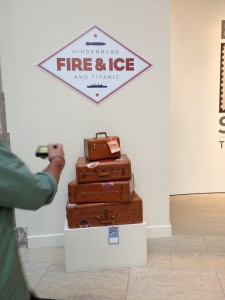 The Fire & Ice exhibit at the National Postal Museum in Washington, DC. Photo credit: L. Tripoli