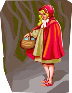 The wolves had more to fear of Little Red Riding Hood than she of them.