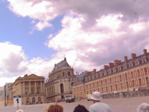 Versailles is an upscale office building.  Photo credit: L. Tripoli