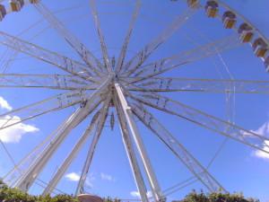The ferris wheel in Paris Photo credit: L. Tripoli