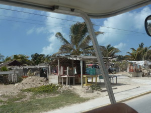 Beach houses come at many price points on Isla Mujeres. Photo credit: M. Ciavardini