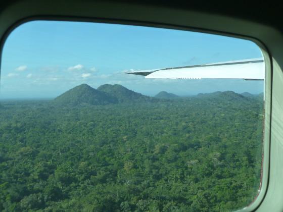The view on the way to Punta Gorda Photo credit: M. Ciavardini