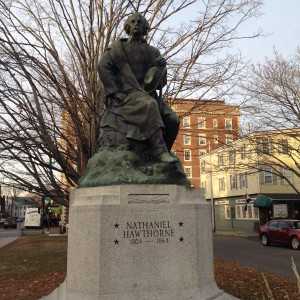 Nathaniel Hawthorne's work was influenced by his surroundings in Salem, Mass.  Photo credit: L. Tripoli