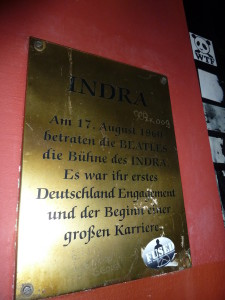 The Beatles' early years also included gigs at the Indra. Photo credit:  M. Ciavardini