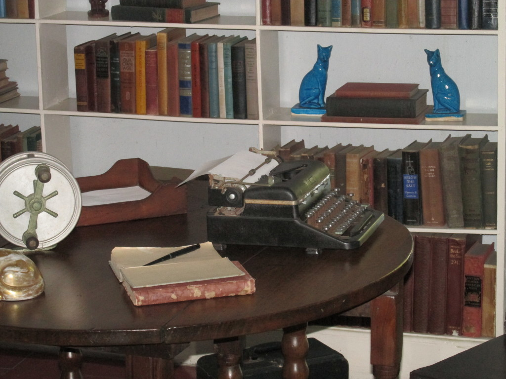 Ernest Hemingway's home office in Key West, Fla. Photo credit: M. Ciavardini