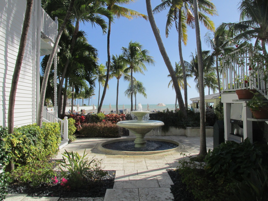 Stress evaporates at La Mer Hotel, Key West, Fla. Photo credit: M. Ciavardini