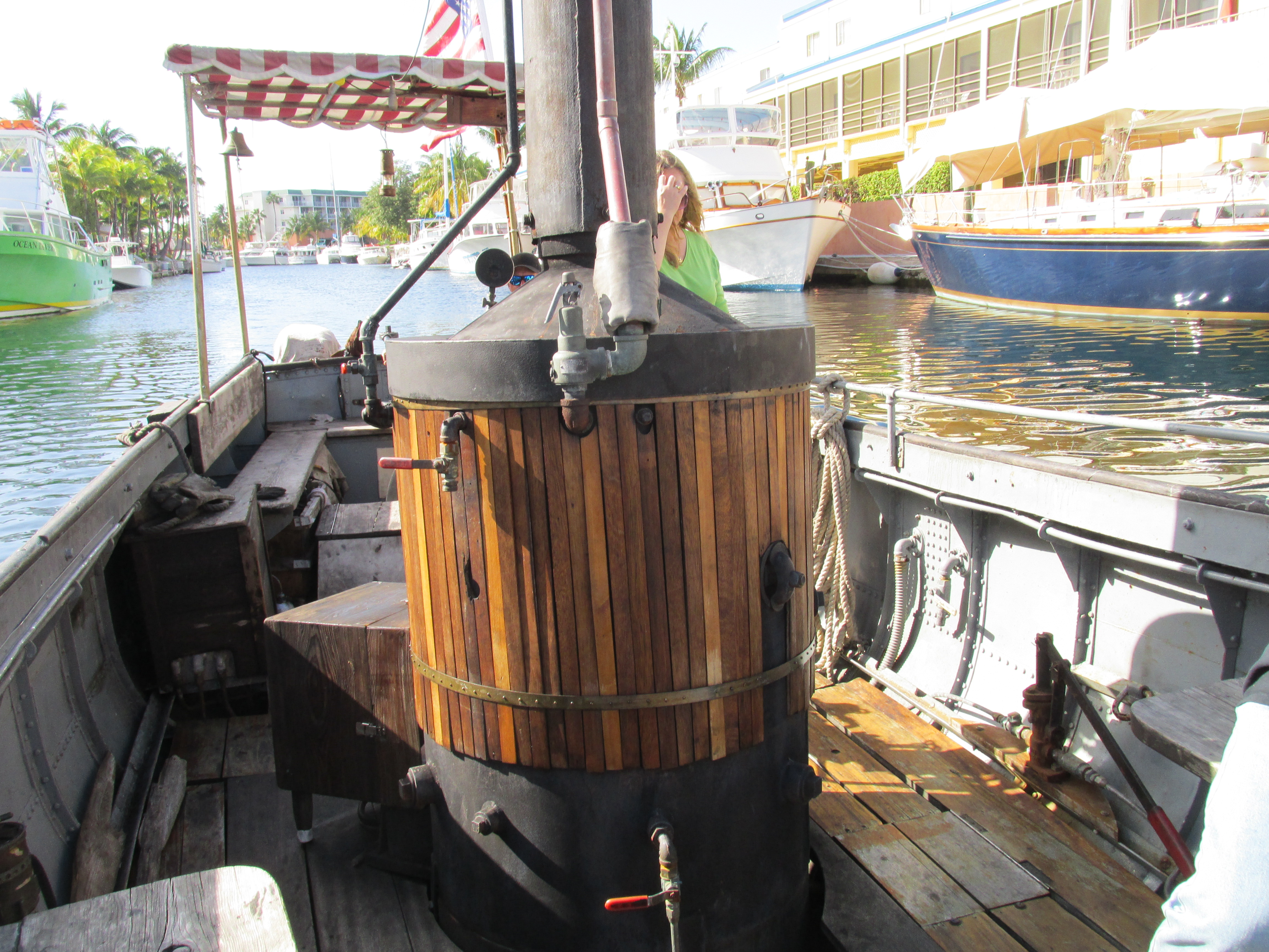 Chug Chugging On The African Queen In Key Largo