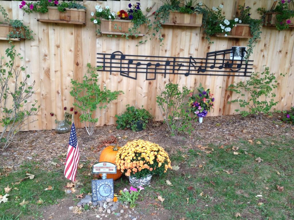 Musician Levon Helms is buried in Woodstock, N.Y. Photo credit: M. Ciavardini