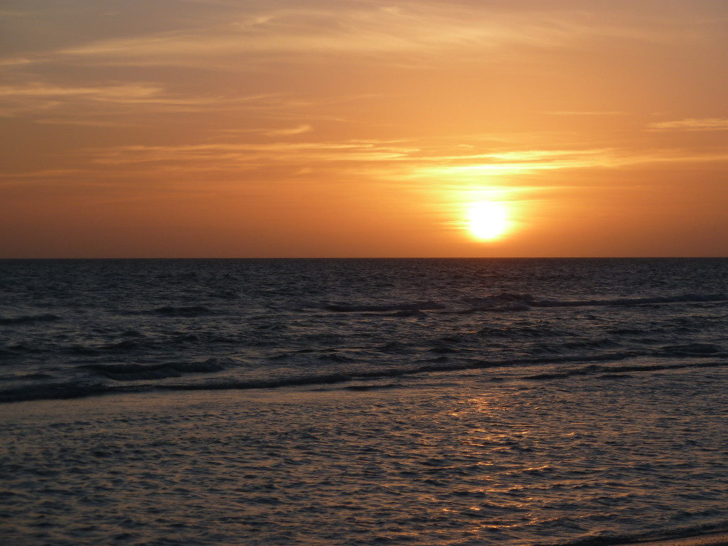 Sunset on Marco Island, Fla. Photo credit: M. Ciavardini