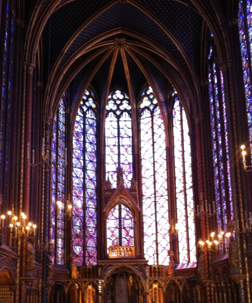 Sainte Chapelle once housed Jesus Christ's crown of thorns. Photo credit: V. Laino