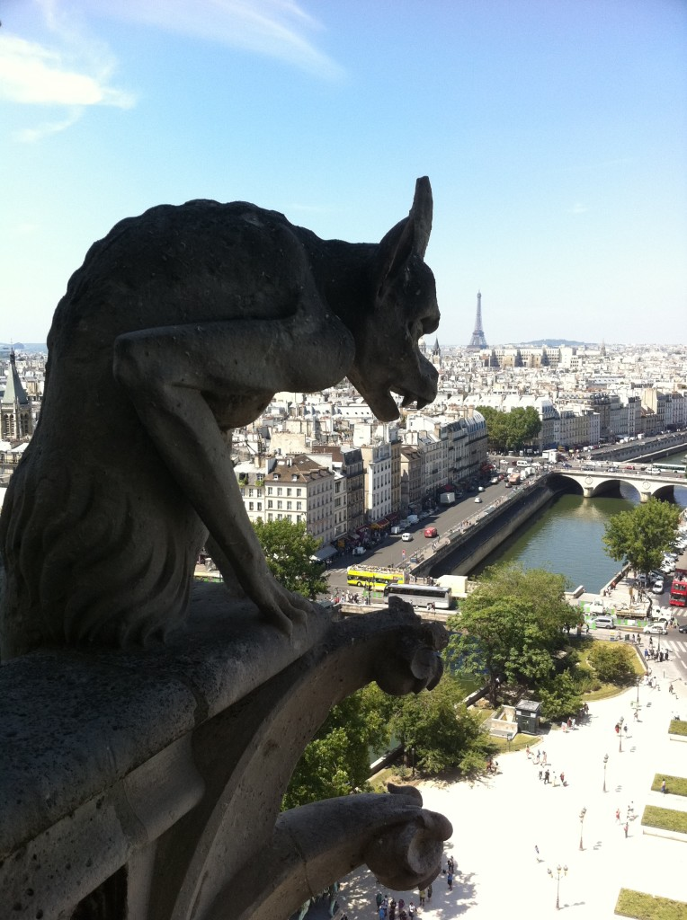 Don't skip the towers of Notre Dame, but be prepared to linger on a very long line. Photo credit: V. Laino