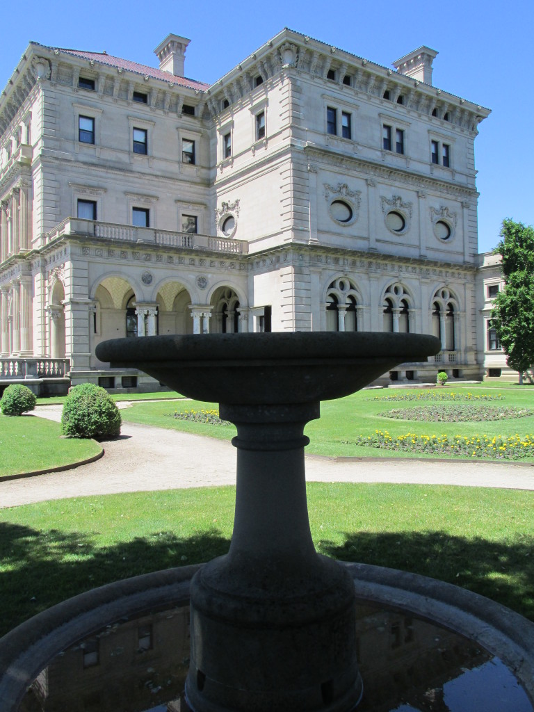 Servants at the Breakers in Newport, R.I., lived on the third and fourth floors. Photo credit: M. Ciavardini