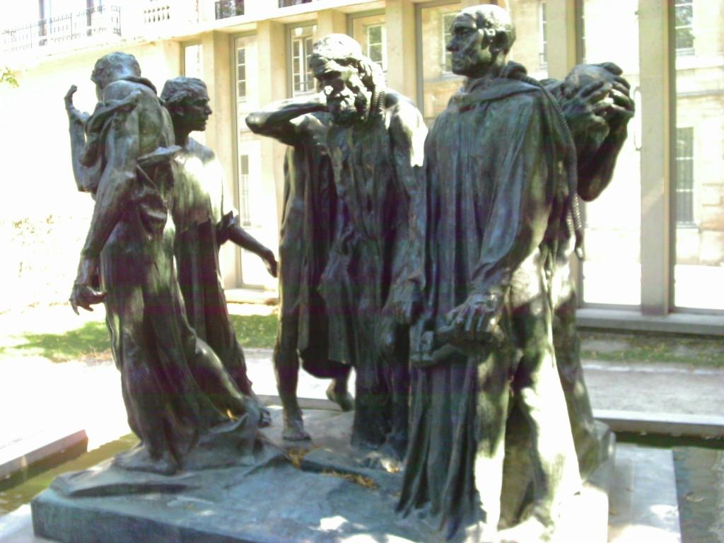 The Burghers of Calais at Musée Rodin, Paris Photo credit: L. Tripoli
