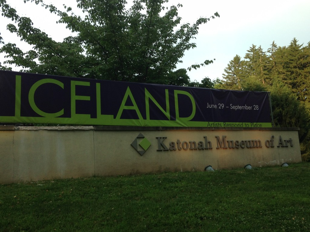 Through September 28, 2014, the Katonah Museum of Art in Katonah, N.Y., features an exhibit on Iceland. Photo credit: M. Ciavardini