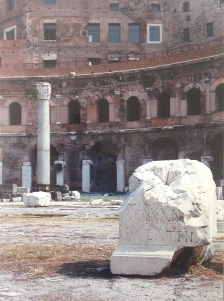 Rome, 1989 Photo credit: L. Tripoli