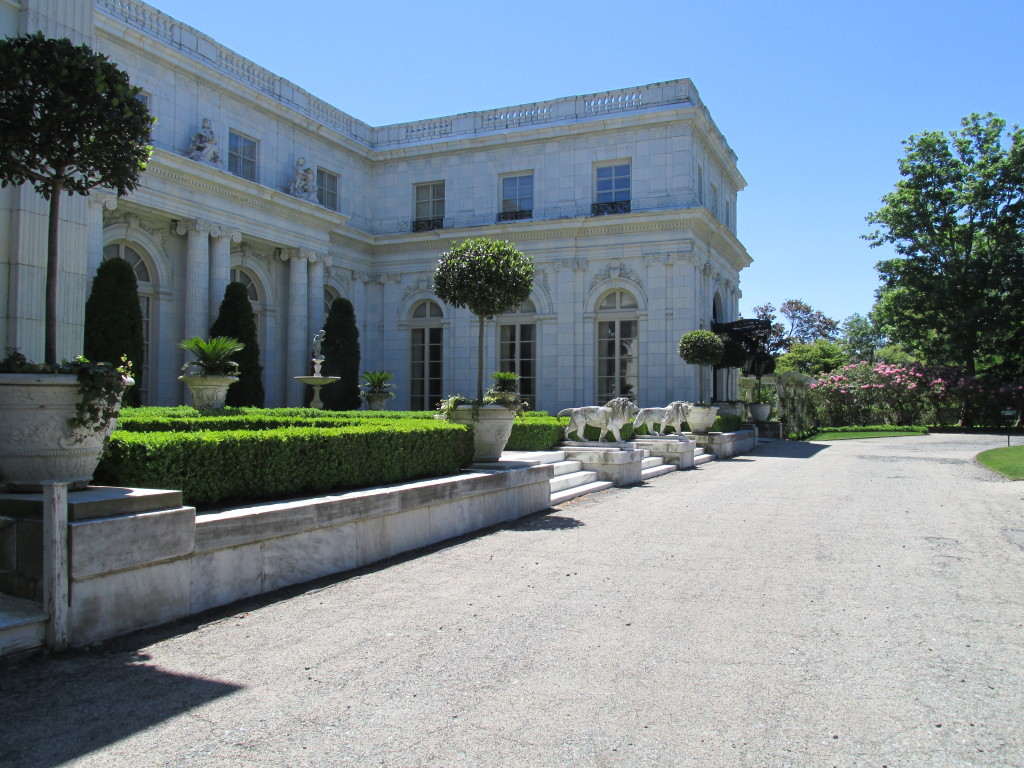 Rosecliff in Newport, R.I., was considered as a summer White House by President John Kennedy, but the home's owner had other plans. Photo credit: M. Ciavardini