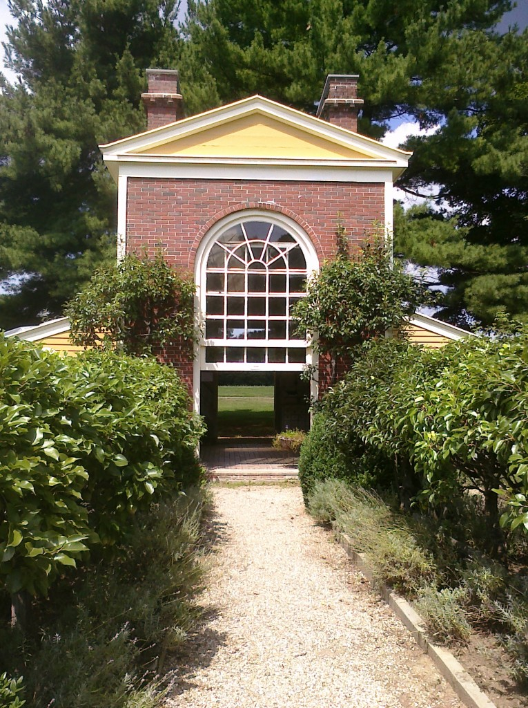 The garden at Boscobel, an historic house in Garrison, N.Y. Photo credit: L. Tripoli