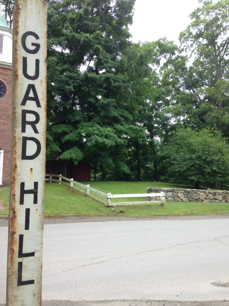 During the Revolutionary War, the British traveled up Guard Hill and later burned all but one house in Bedford Village, N.Y. Photo credit: M. Ciavardini