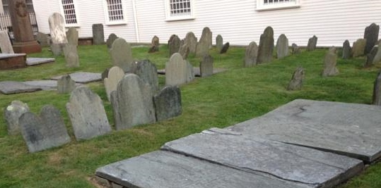 Before the Revolution, Trinity Church in Newport, R.I., was Anglican; afterward, Episcopalian. Photo credit: M. Ciavardini