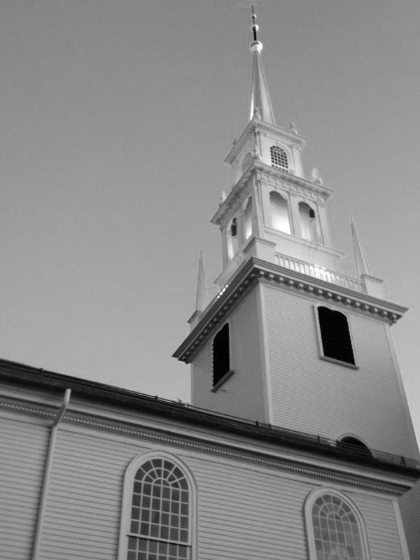 Trinity Church in Newport, R.I. survived the American Revolution. Photo credit: M. Ciavardini