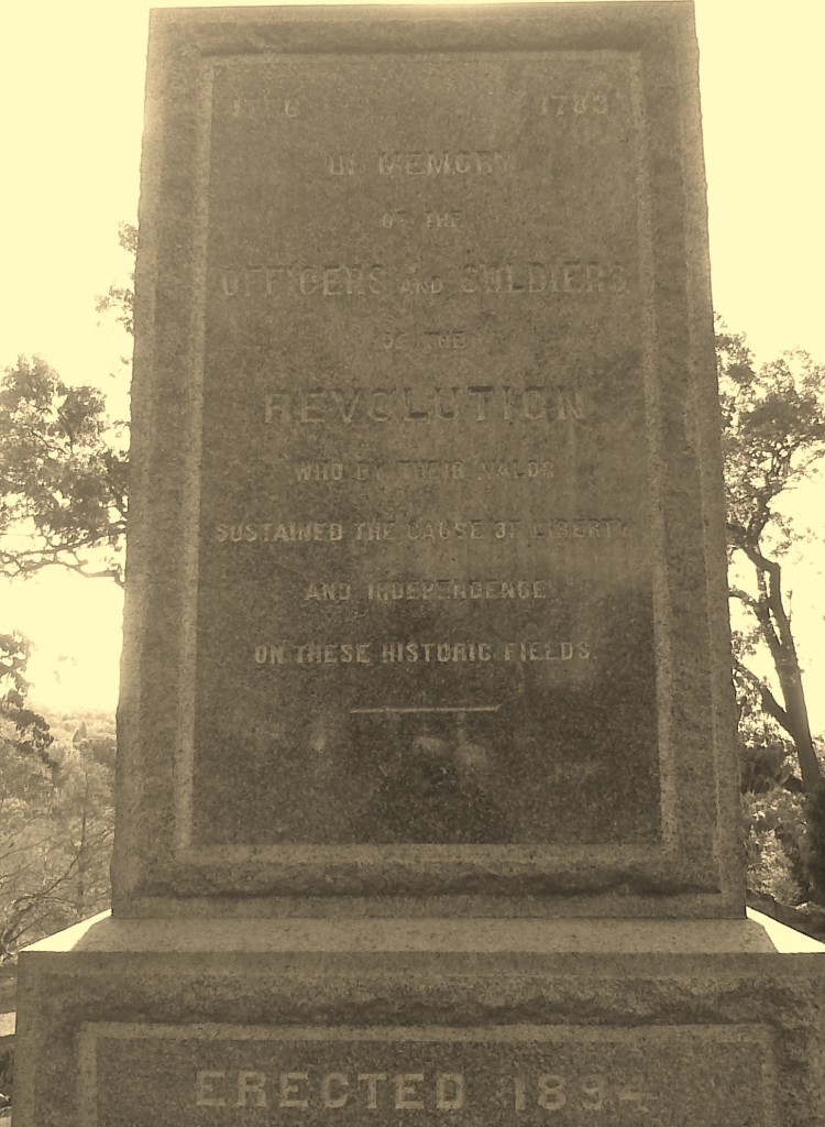 Memories of the American Revolution preserved in Sleepy Hollow (then known as Tarrytown), N.Y. Photo credit: L. Tripoli