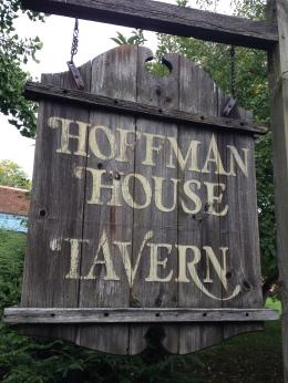 Kingston Hoffman House Tavern sign