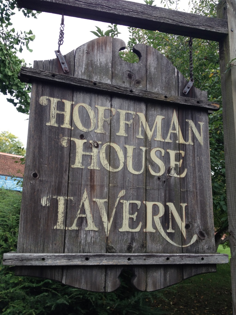Kingston Hoffman House Tavern sign