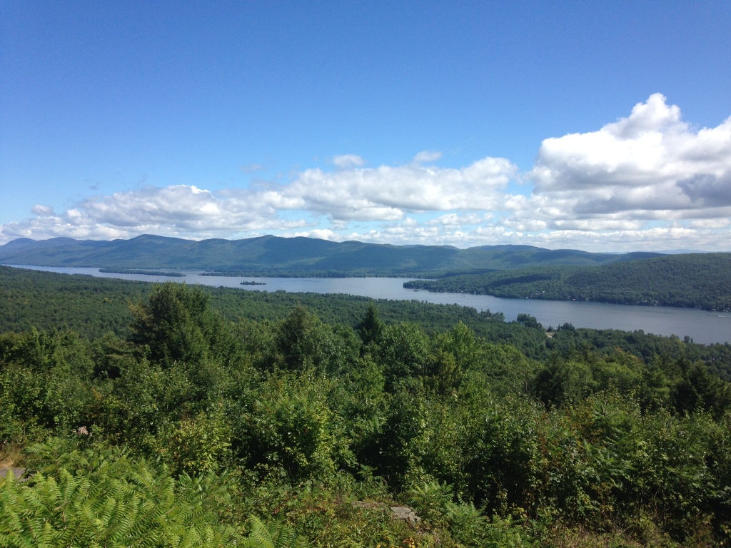 Not a hiker? You needn't be one to ascent Prospect Mountain overlooking Lake George, N.Y. Photo credit: M. Ciavardini