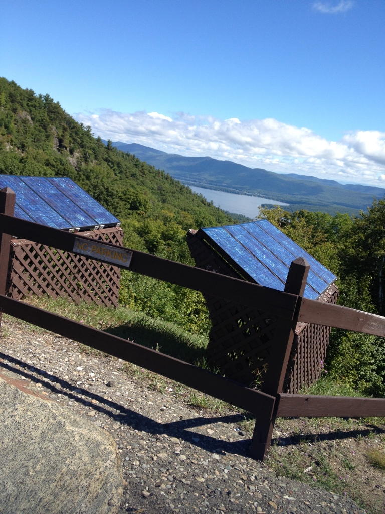 Solar panels atop Prospect Mountain, N.Y. Photo credit: L. Tripoli