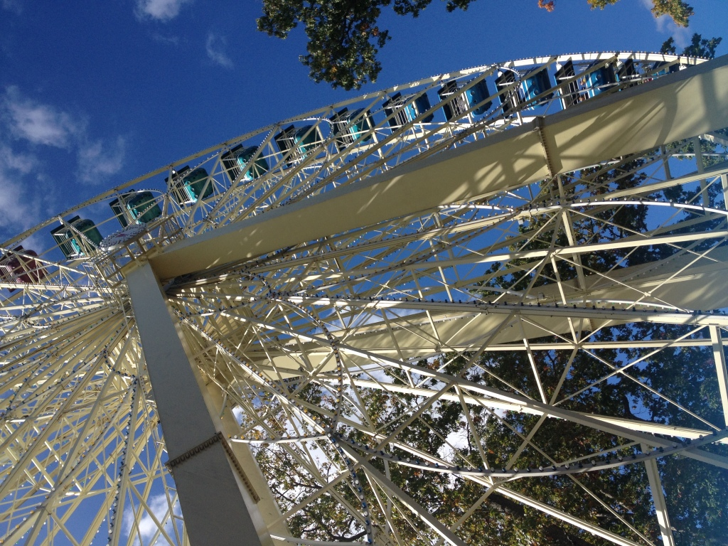Ferris wheel, Great Adventure, Jackson, N.J. Photo credit: M. Ciavardini