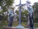 Graveyard art, St. Philip's Church in the Highlands, Garrison, N.Y. Photo credit: M. Ciavardini