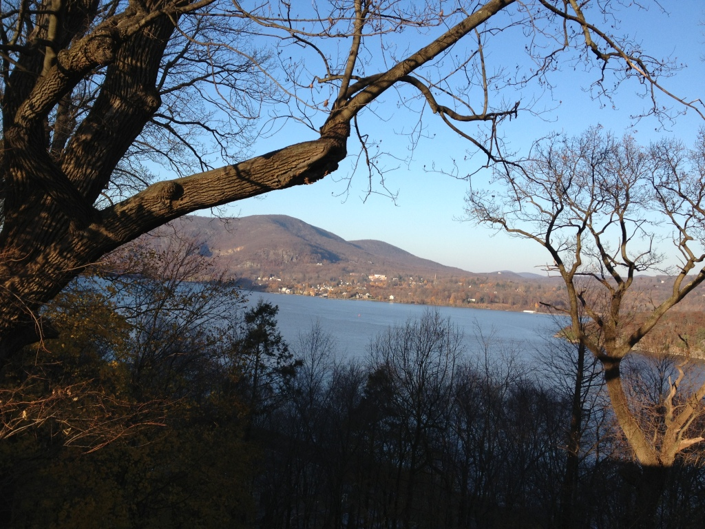 The view from the cemetery at West Point, N.Y. Photo credit: M. Ciavardini