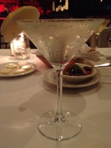 A lemon drop at Blackstones Steakhouse in Mount Kisco, N.Y. Photo credit: M. Ciavardini