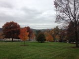 The view from the hill at Colgate University, Hamilton, N.Y. Photo credit: M. Ciavardini
