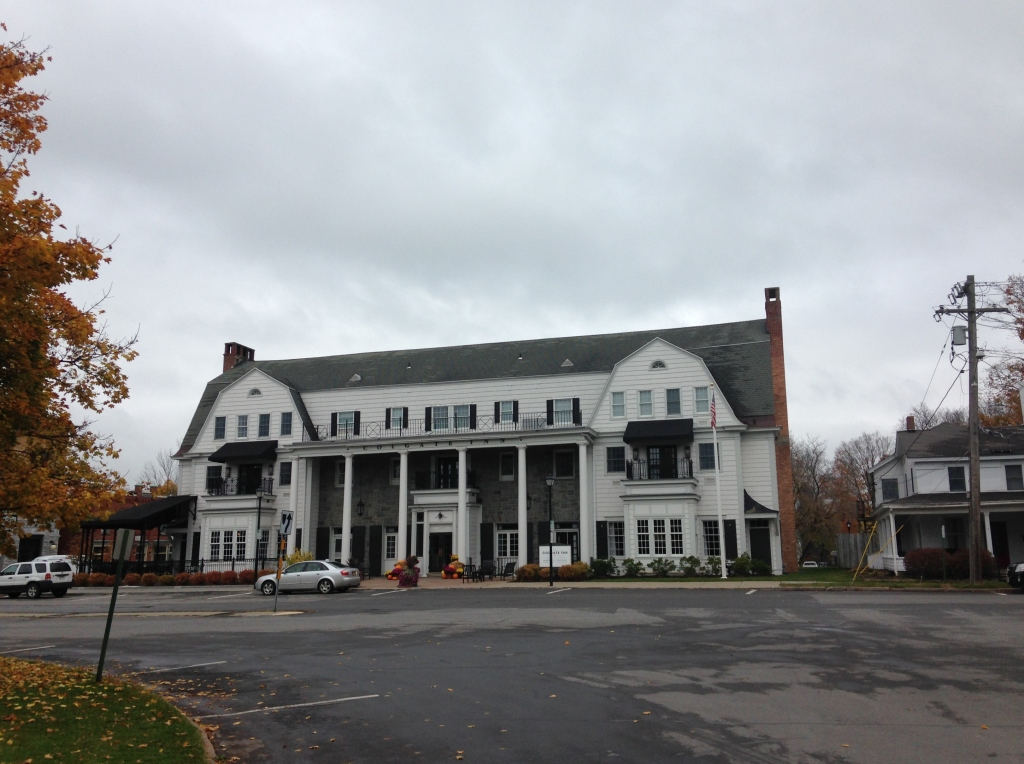 The Colgate Inn in Hamilton, N.Y. does not disappoint. Photo credit: M. Ciavardini