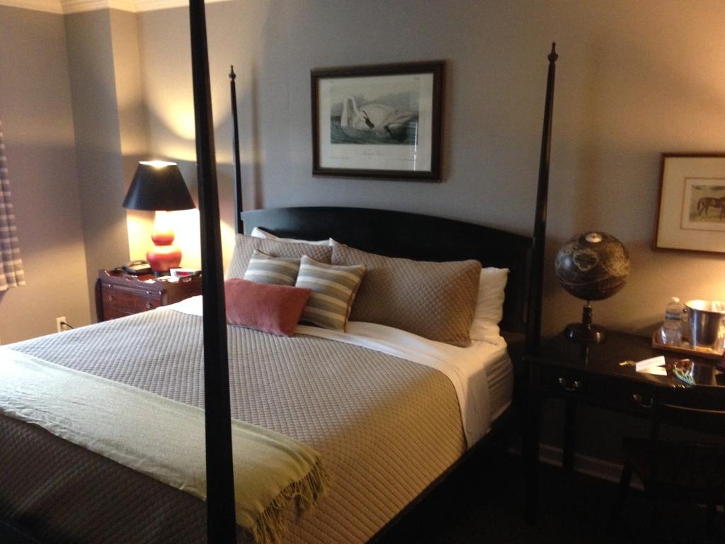 Guest lodging at the Colgate Inn, Hamilton, N.Y. Photo credit: M. Ciavardini