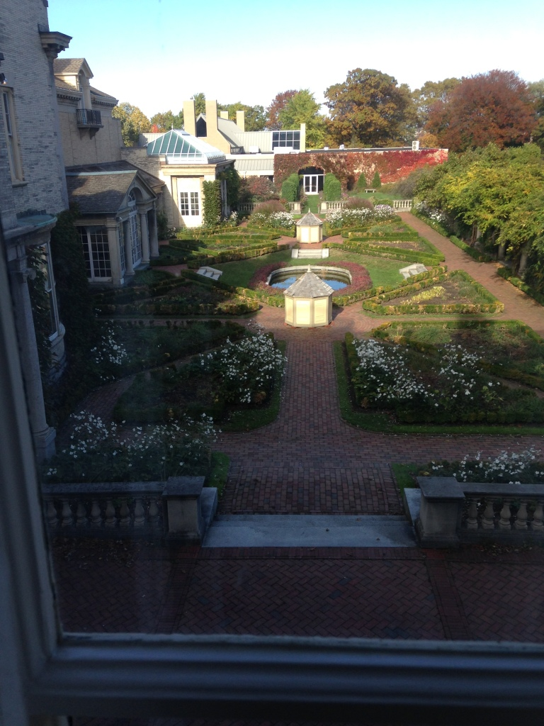 The view from George Eastman's mother's room, George Eastman House, Rochester, N.Y. Photo credit: M. Ciavardini