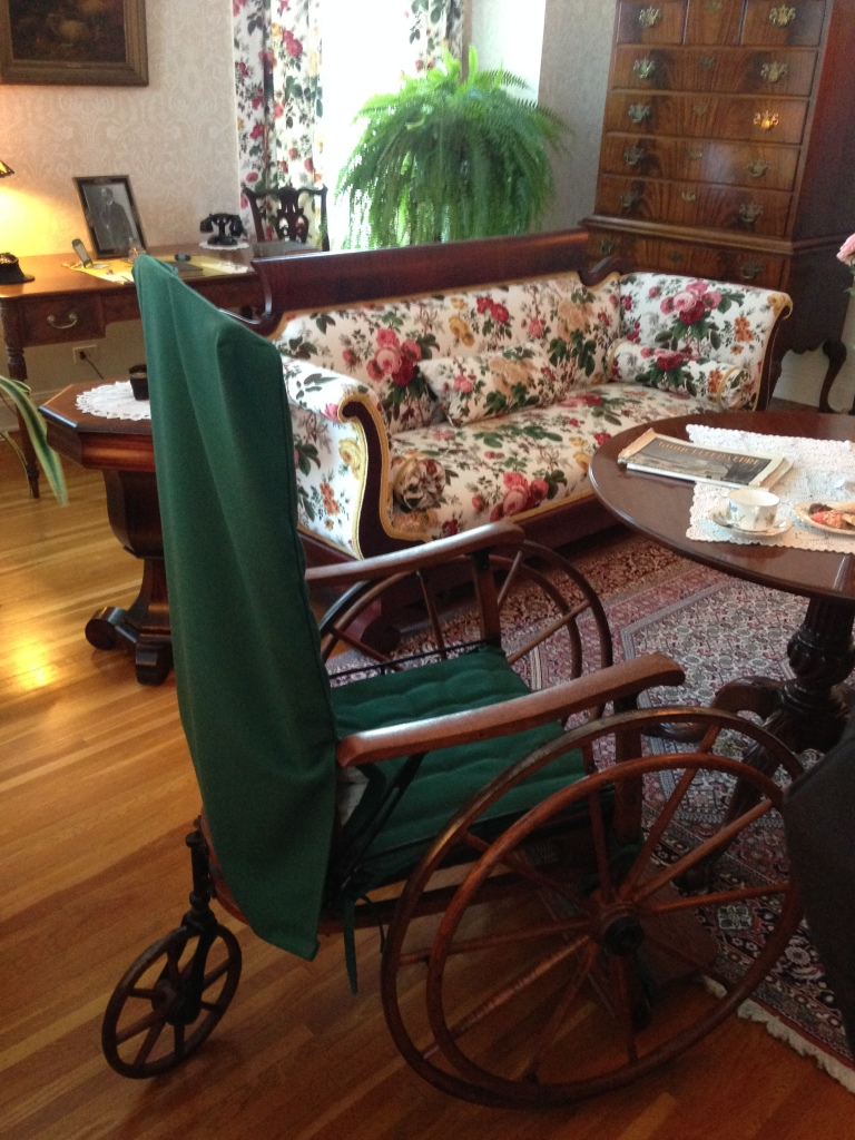 George Eastman's mother's room, George Eastman House, Rochester, N.Y. Photo credit: M. Ciavardini
