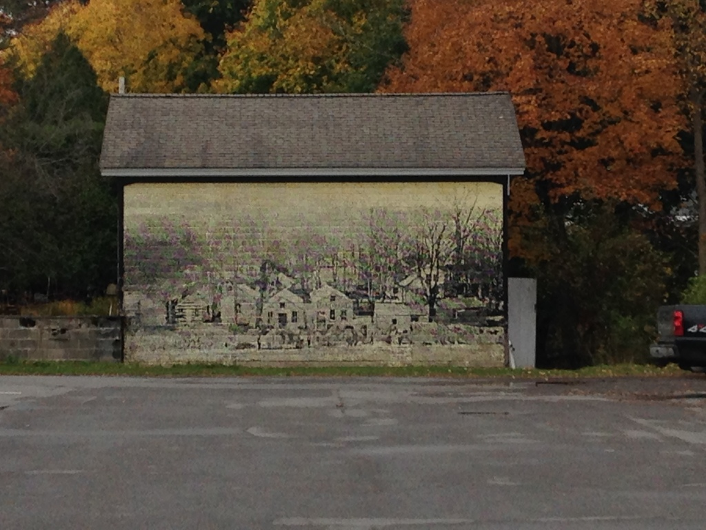 Barn art, Hamilton, N.Y. Photo credit: M. Ciavardini