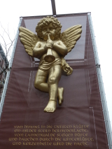 A cherub discovered on a walking tour of Hamburg Photo credit: M. Ciavardini