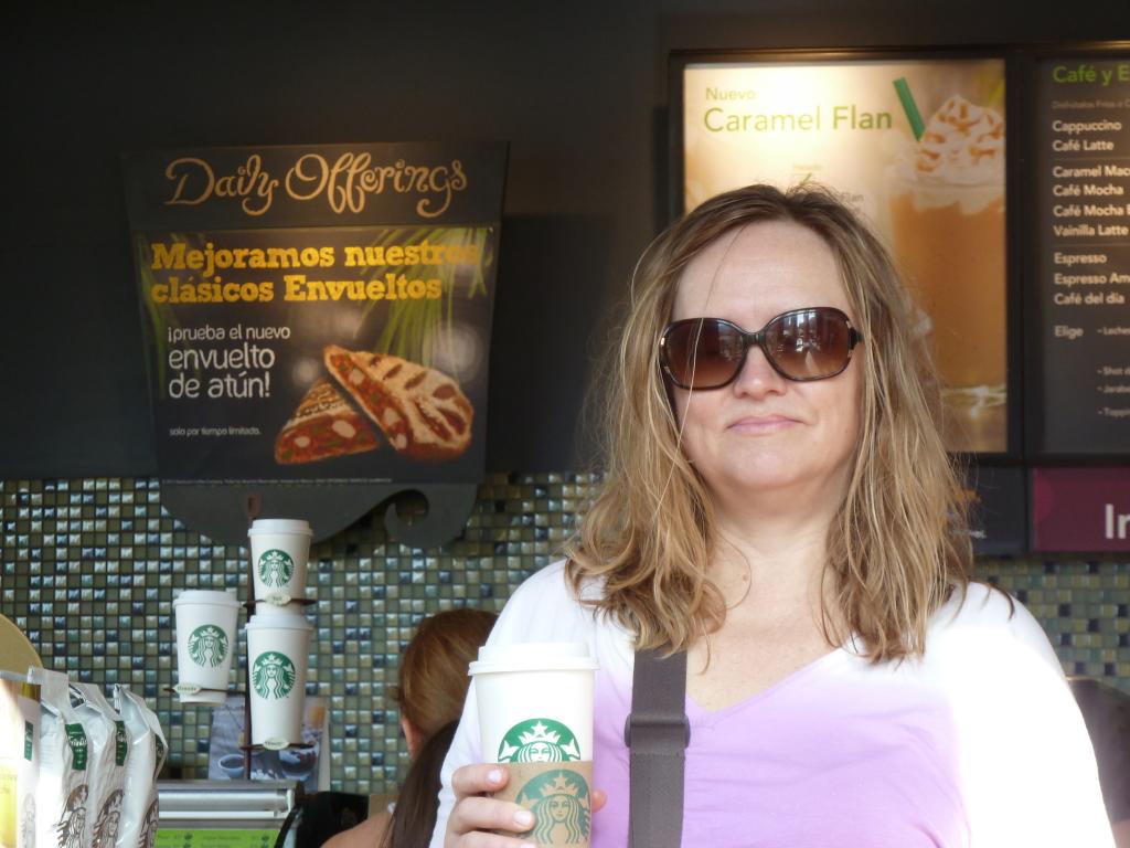 Starbucks in Cancun, Mexico Photo credit: M. Ciavardini