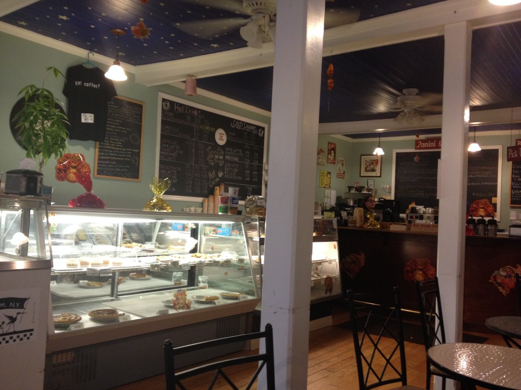 Coffee, good cheer, and great vanilla shakes a Cupoccino Café in Cold Spring, N.Y. Photo credit: M. Ciavardini