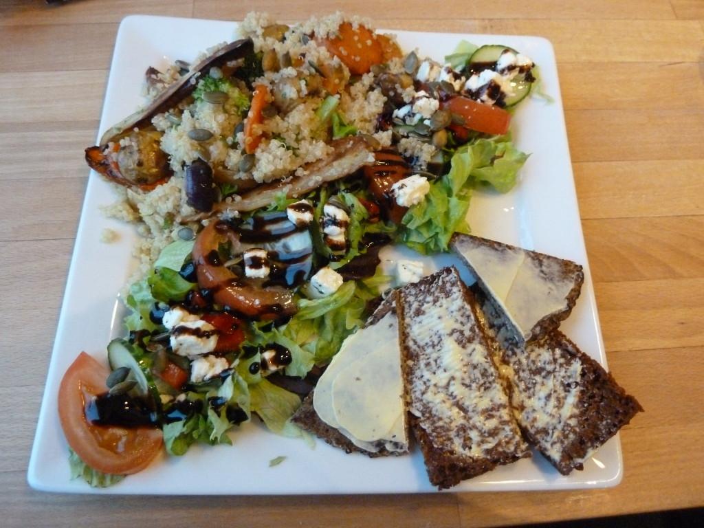 Vegetables are prepared well at Café Loki in Reykjavik. Photo credit: M. Ciavardini