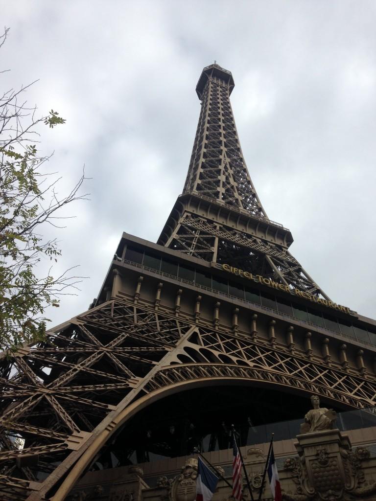 Eiffel Tower Restaurant in las Vegas