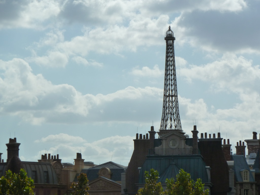 Epcot Eiffel tower in Orlando, Florida