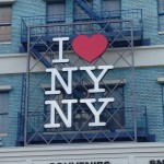 I love New York sign