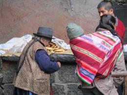 Residents of Pisac, Peru