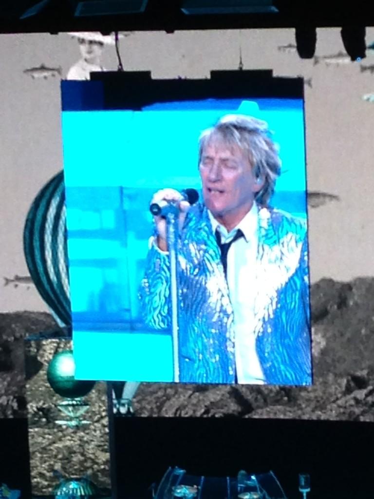 Rod Stewart in Las Vegas