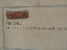 A remnant of the Battle of Yorktown in Virginia